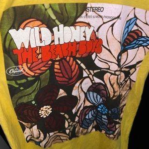 The Beach Boys Wild Honey World Tour tee shirt